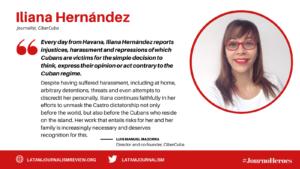 #JournoHeroes Iliana Hernández ENG
