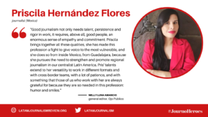#JournoHeroes Priscila Hernandez Flores ENG (1)