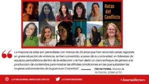 #Journoheroes Rutas del Conflicto ESP (2)