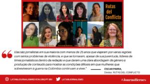 #Journoheroes Rutas del Conflicto POR (1)