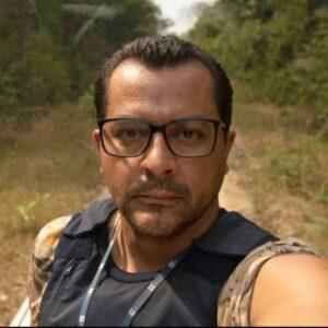 Joedson Alves, da Agência EFE: 'eu era os olhos da sociedade sobre a violação do governo'. Foto: arquivo pessoal