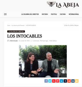 Screen Shot de LaAbeja.pe