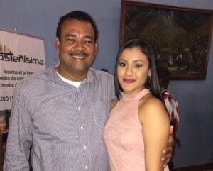 Kimberly y su papá Sergio León. (Foto: archivo personal)