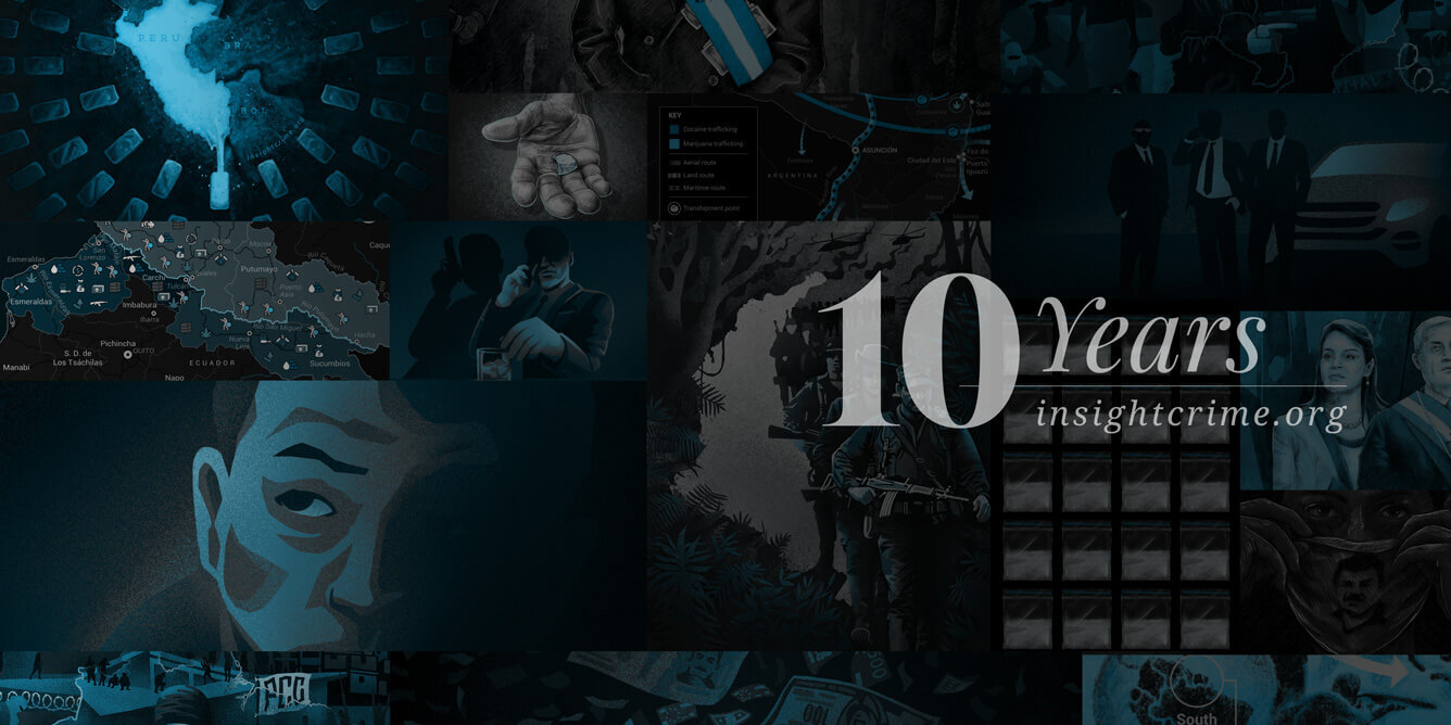 InSight Crime 10 años banner