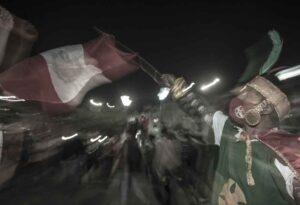 Foto de protestas en Perú