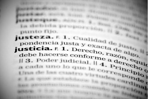Definition of Justicia