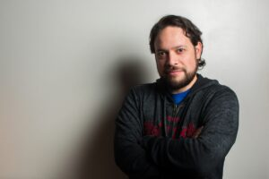 O jornalista Victor Amaya, da Venezuela