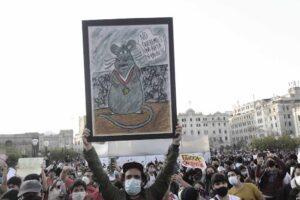 Protestas contra Manuel Merino en Lima, Perú