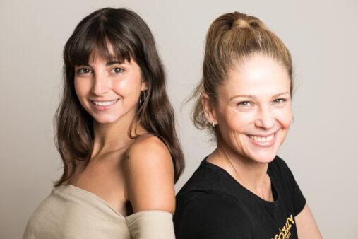 Fundadoras de No Pausa, Milagros Kirpach y Miriam de Paoli. (Foto: Cortesía)