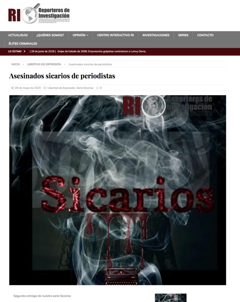 Screen Shot Sicarios