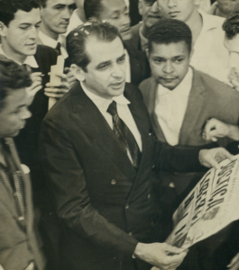 Helio Fernandes dirigiu a Tribuna da Imprensa de 1962 a 2008. Foto: Arquivo Nacional