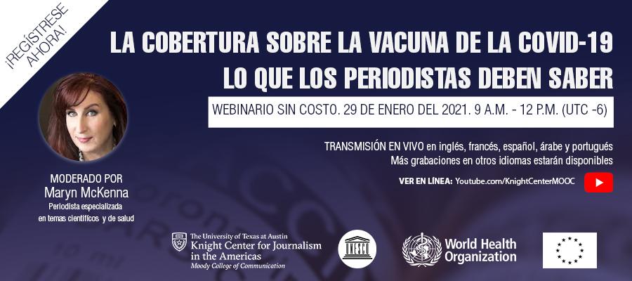 Banner webinar vacunas COVID SPA
