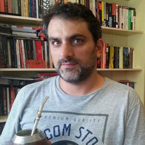 Felipe Boff: jornalista precisou ser escoltado após discurso que criticava o presidente durante cerimônia de formatura