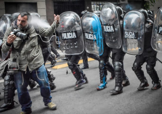 Protest, photojournalism