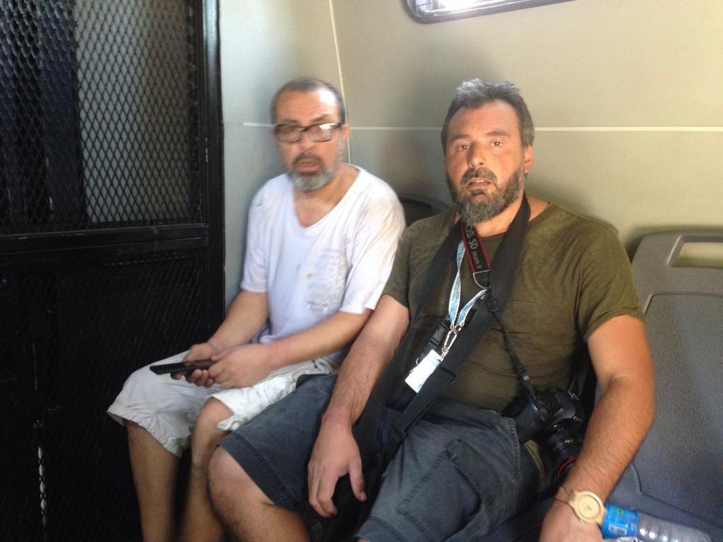 arresto de Bernardino Ávila y Juan Pablo Barrientos Argentina
