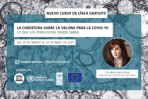 Featured Image in Spanish for COVID vaccines MOOC