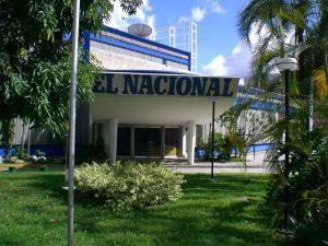 Fachada do El Nacional
