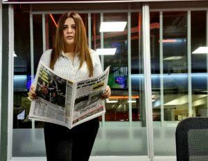 Marta Escurra, presidente do Foro de Periodistas Paraguayos (FOPEP): ameaças e agressões são o ponto de partida para violações mais graves, como assassinatos de colegas jornalistas.