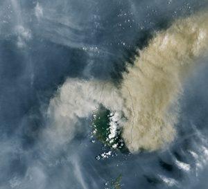 Eruption of La Soufrière