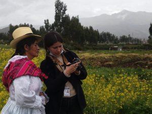 Fotoperiodista Florence Goupil trabaja en Ancahuasi