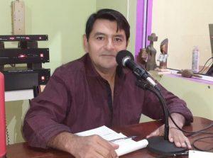 "Argañaraz, attacked during a demonstration in Miraflores, Chaco: ""denunciations do not prosper"" (Courtesy)"