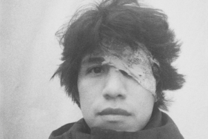 Huaroto: 'losing vision is like the worst nightmare, because it is my work tool.' Photo: Self portrait