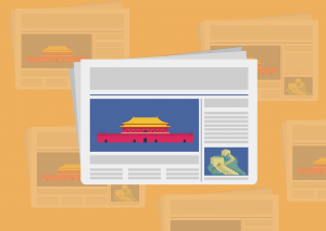 Newspaper graphic