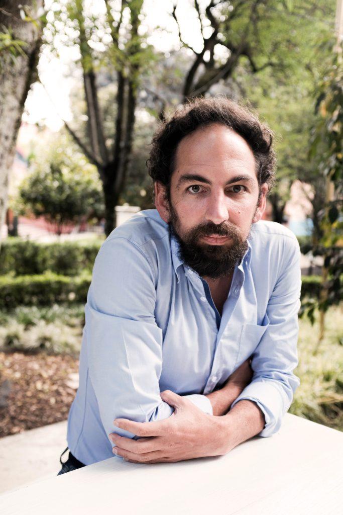 Jonathan Bock de la FLIP, Colombia. (Foto: Sebastián Comba / Cortesía)