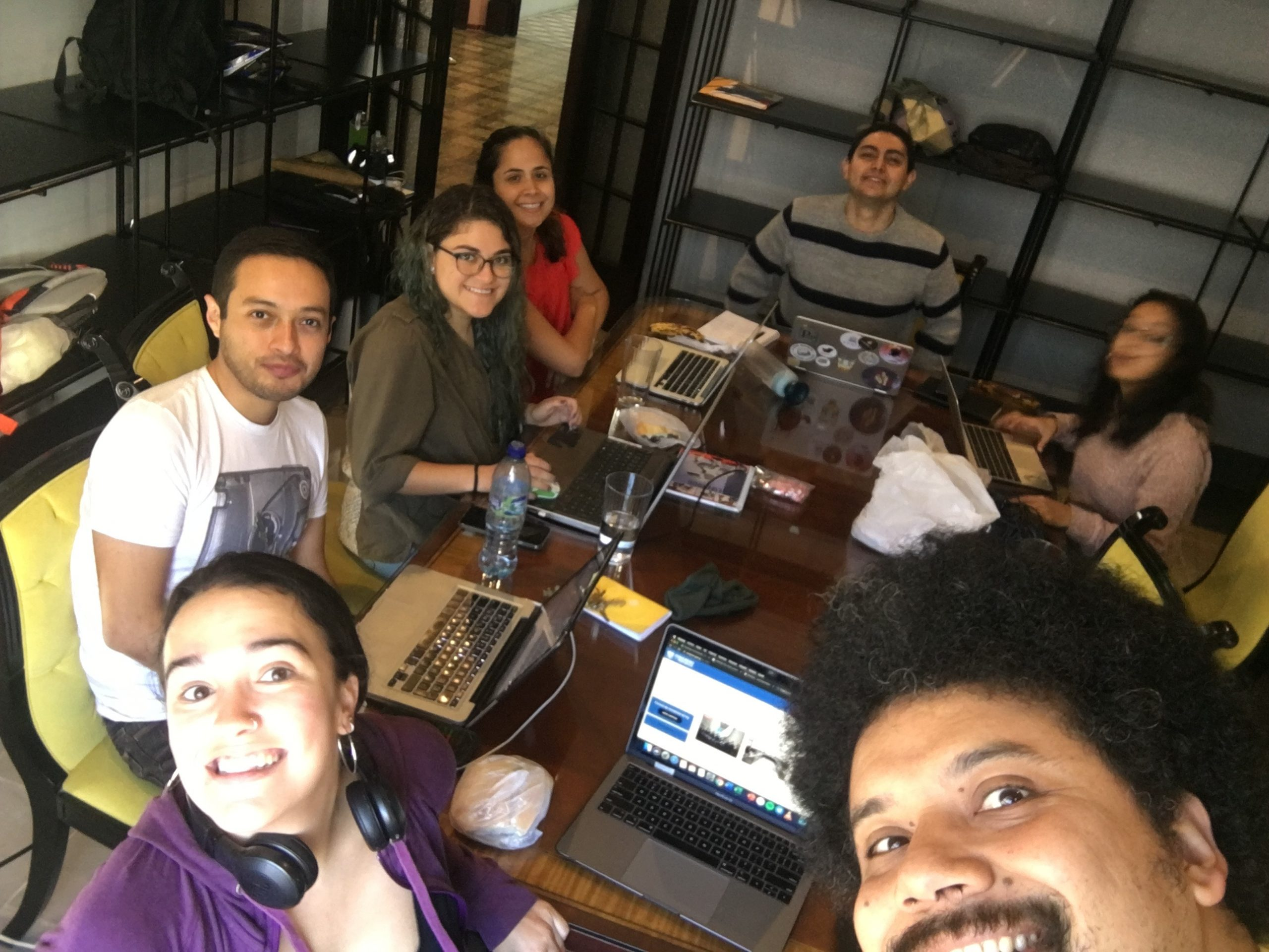 Guatemala periodismo. Agencia Ocote
