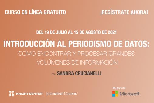 Banner for Periodismo de Datos MOOC