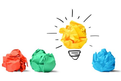 lightbulbs as ideas