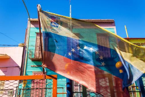 Venezuelan flag in Boca