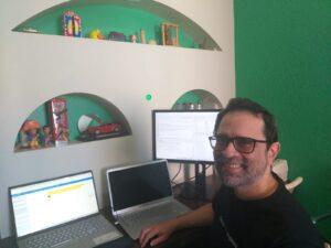 Fernando Barbalho: tratar, identificar erros e preparar visualização em 60 gigabytes de dados, com mais de 100 milhões de linhas. Foto: cortesia