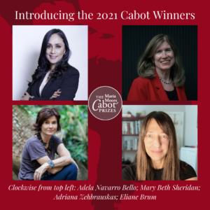 Cabot Prize winners 2021