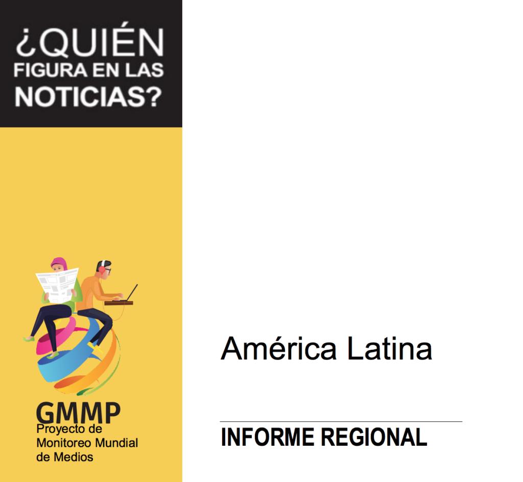 Relatório GMMP 2020 para a América Latina.