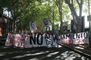Infonews protest