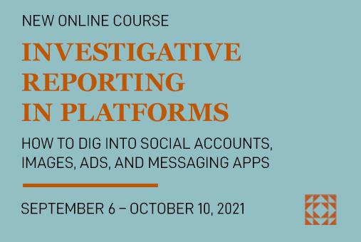 Blog Banner Investigative Reporting 2021