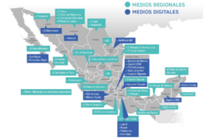 Mexican media mapped