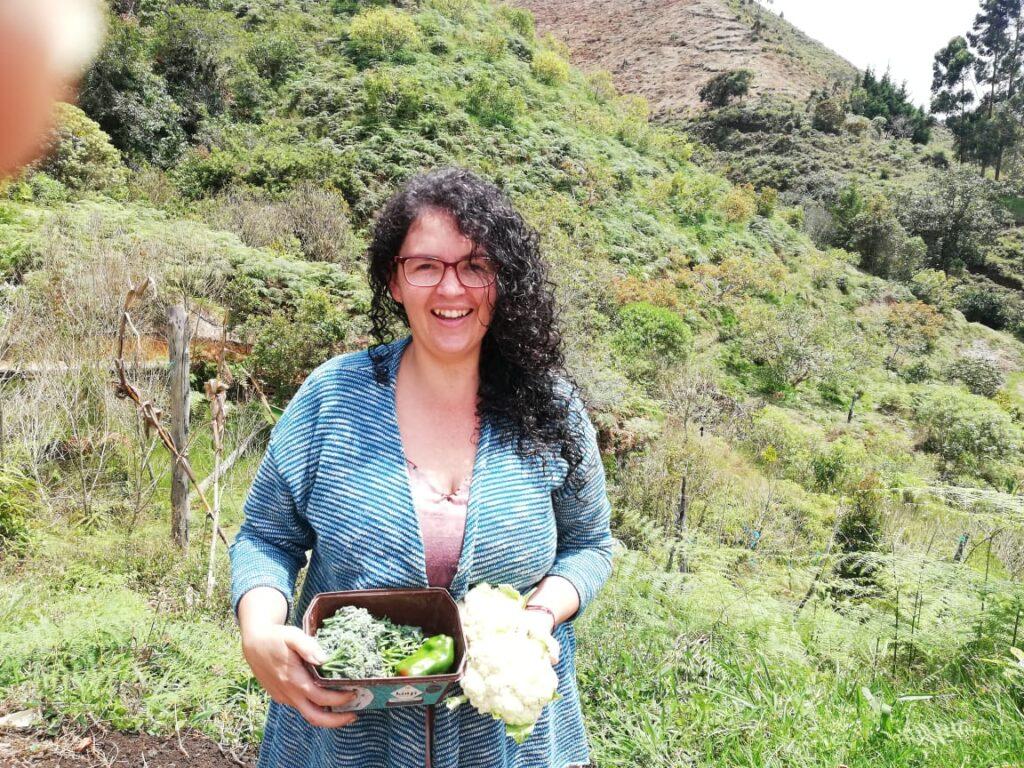 Laura Giraldo de Consonante de Colombia