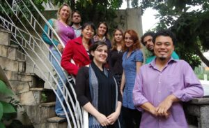 Equipo de Repórter Brasil en 2015.