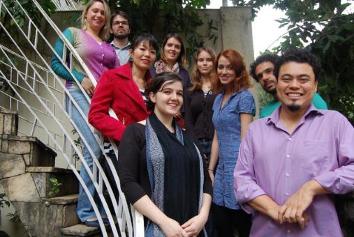 Equipe da Reporter Brasil em 2015