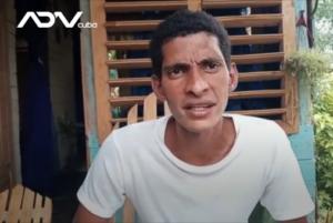 Yoel Acosta Gámez: 'minha mensagem ao regime comunista é vamos continuar mostrando a realidade do povo cubano. Não temos medo de ser levados para a prisão'. Foto: ADN Cuba