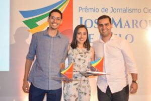 Lucas Thaynan e Graziela França são fundadores de agência de jornalismo de dados