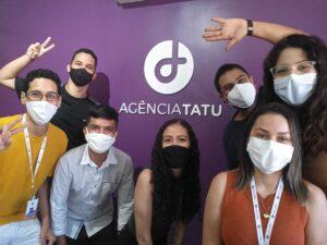 Equipe da Tatu, agência de jornalismo de dados especializada