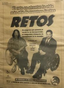 anúncio do programa Retos